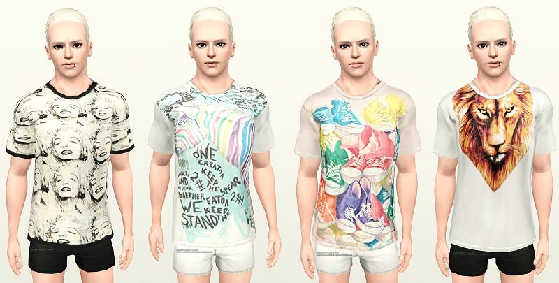 Výsledek obrázku pro the sims 2 t-shirt