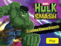 Jogo Hulk - Gamma Storm Smash