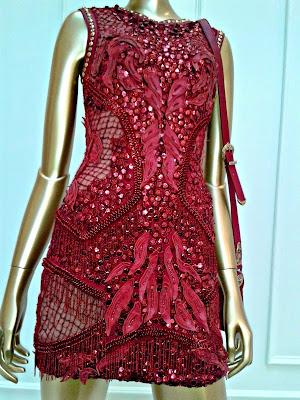 versace-red-embellished-dress