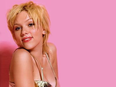 Scarlett Johansson Lips Wallpaper