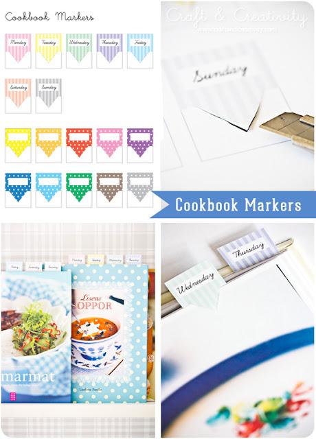 imprimible,printable,libro de recetas,marcador,cookbook,marker,pastel,color,lunares,dots,striped