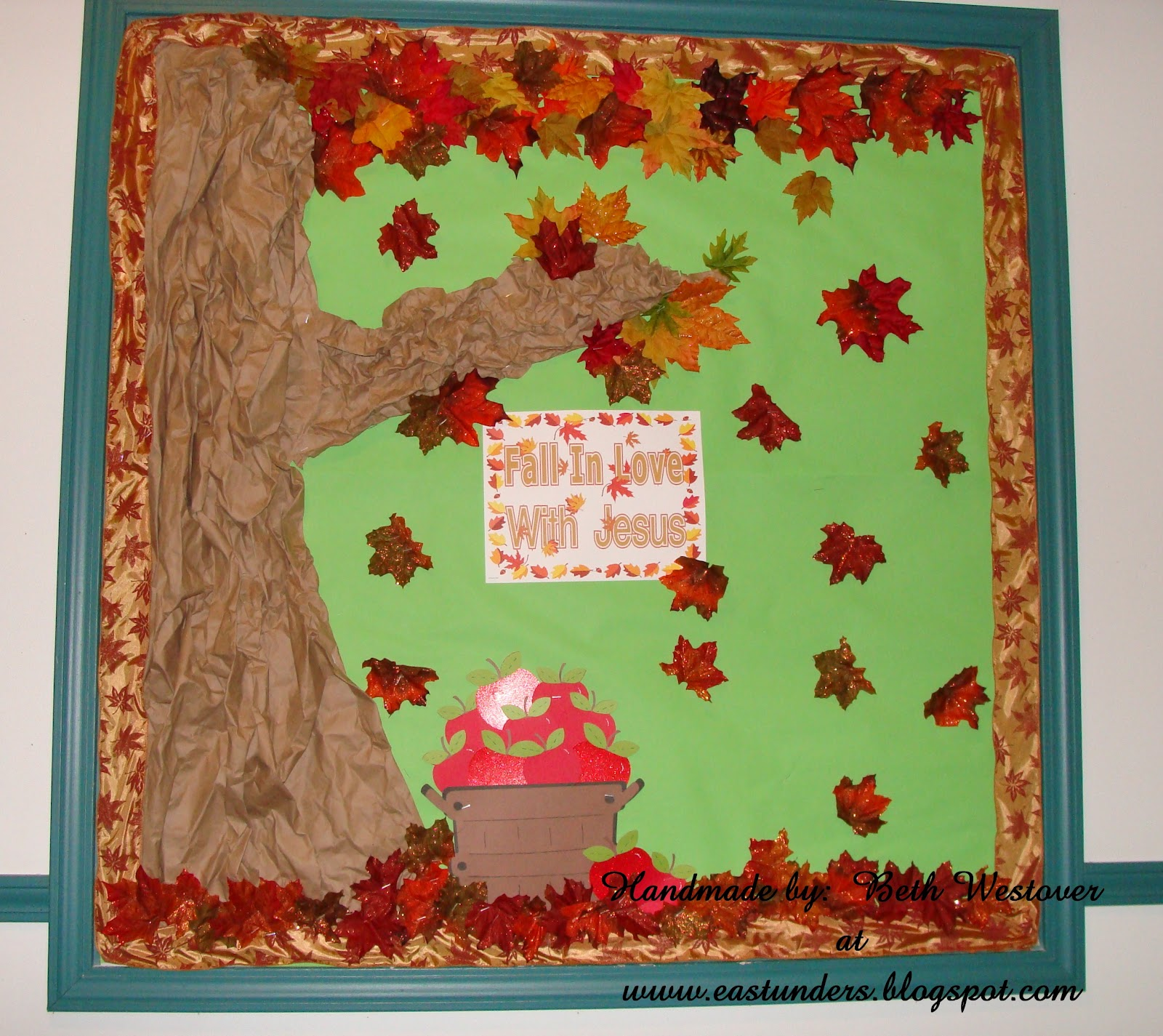 eastunders creations 2012 fall autumn bulletin boards