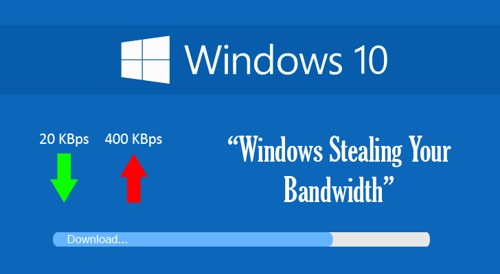 10, Feeling like your Internet Bandwidth is dropping away? Windows 10 ...