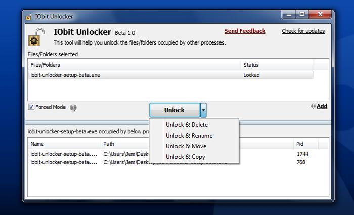 Iobit unlocker 1.0 serial