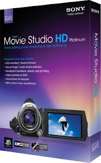 Sony Vegas Movie Studio HD Platinum Production Suite v11.0-cover
