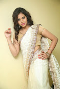 gowthami chowdary glamorous in saree-thumbnail-1