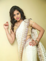 Gowthami Chowdary saree photo shoot gallery-cover-photo