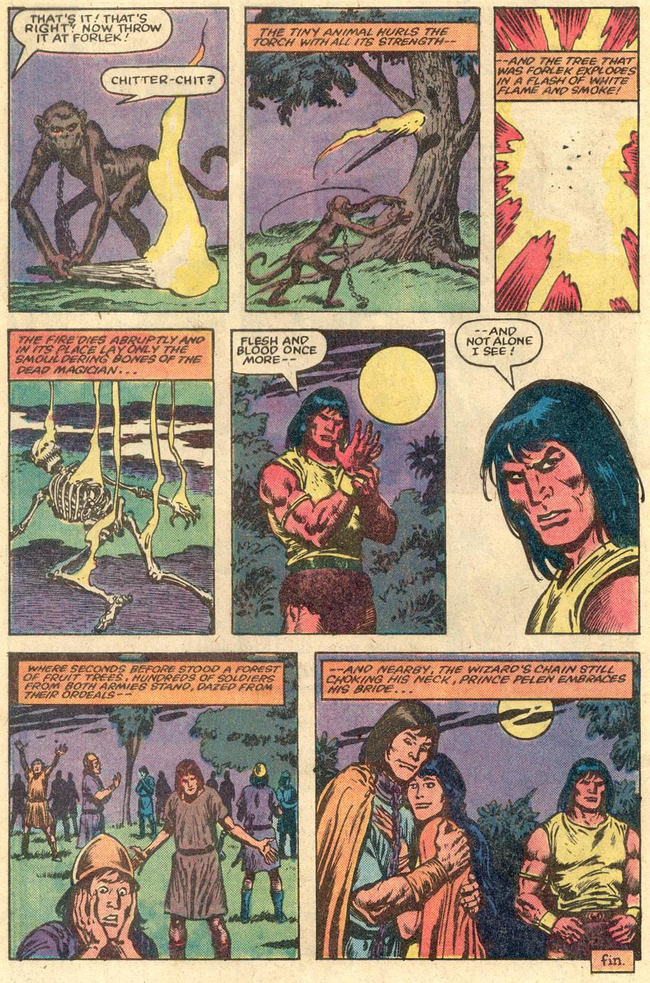 Conan the Barbarian (1970) Issue #148 #160 - English 23