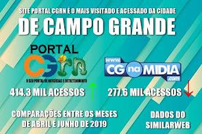 Site PORTAL CG RN é o mais visitado e acessado de Campo Grande