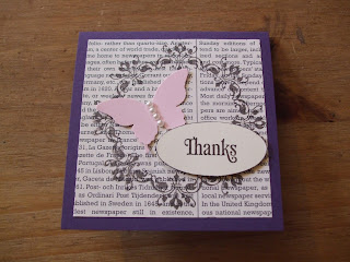 Daydream Medallions, Elegant Butterfly, Stampin' Up!