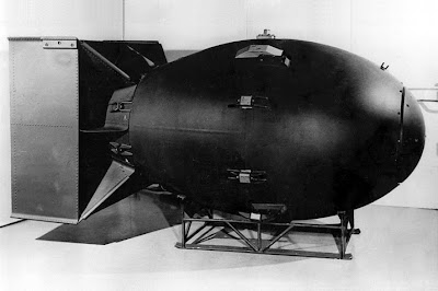 Fat Man Atomic Bomb  Nuclear Weapon