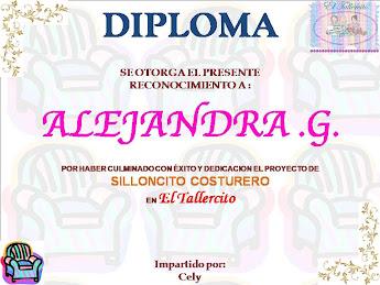 DIPLOMA:Proyecto Silloncito Costurero