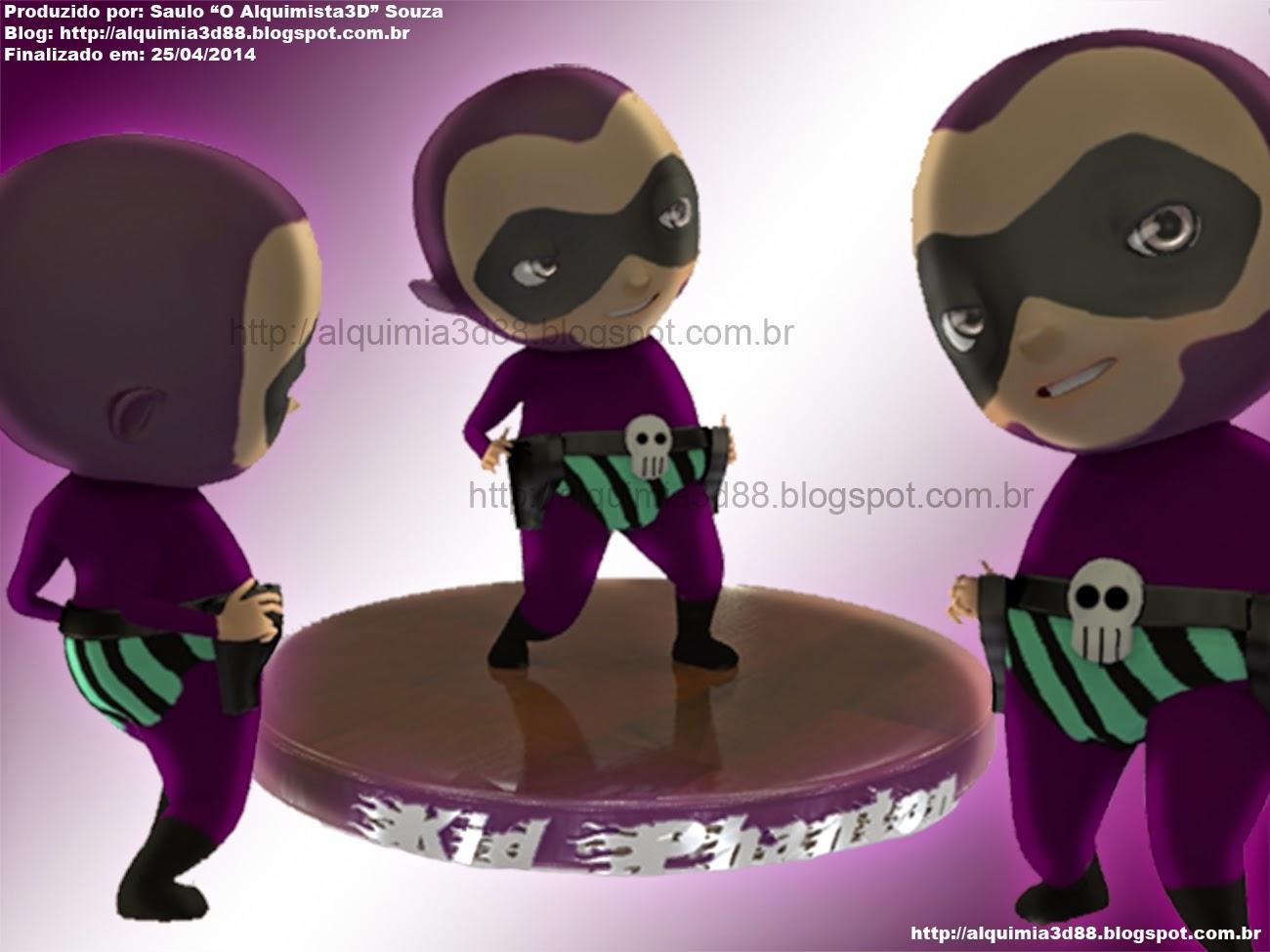 The Phantom by Saulo Alquimista 3D