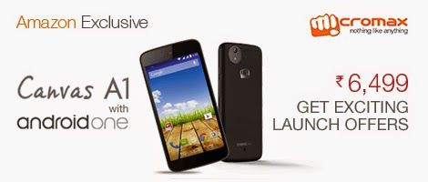 Diwali Offers on Canvas A1 and Other Smartphones at Amazon