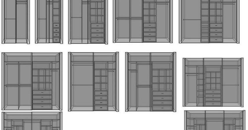 PROYECTO UNO: Interiores para vestidores