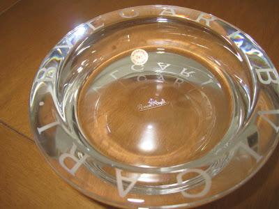 Promoción especial seguidoras del Blog: piezas de cristal de BULGARI a precios especiales