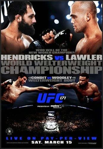 Download - UFC 171: Hendricks vs. Lawler – HDTV MP4 + RMVB