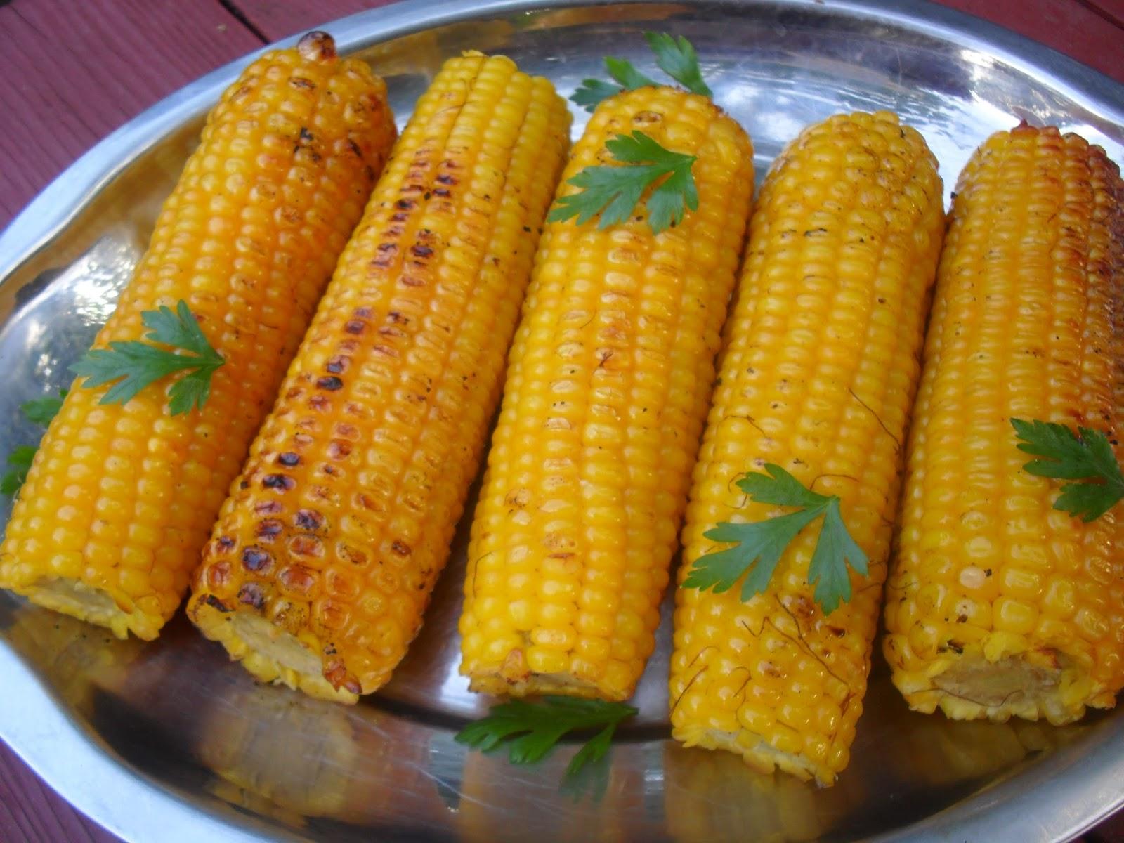 Grillowana Kukurydza Kulinarne Fantazje Marioli