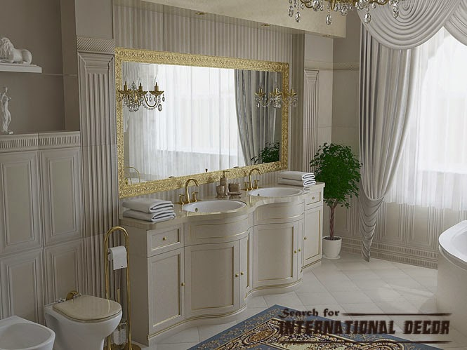 classic bathroom, luxury bathroom, luxury classic bathroom furniture