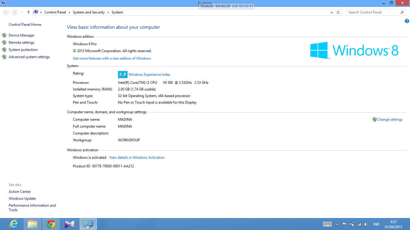 Windows 8 dan 8.1