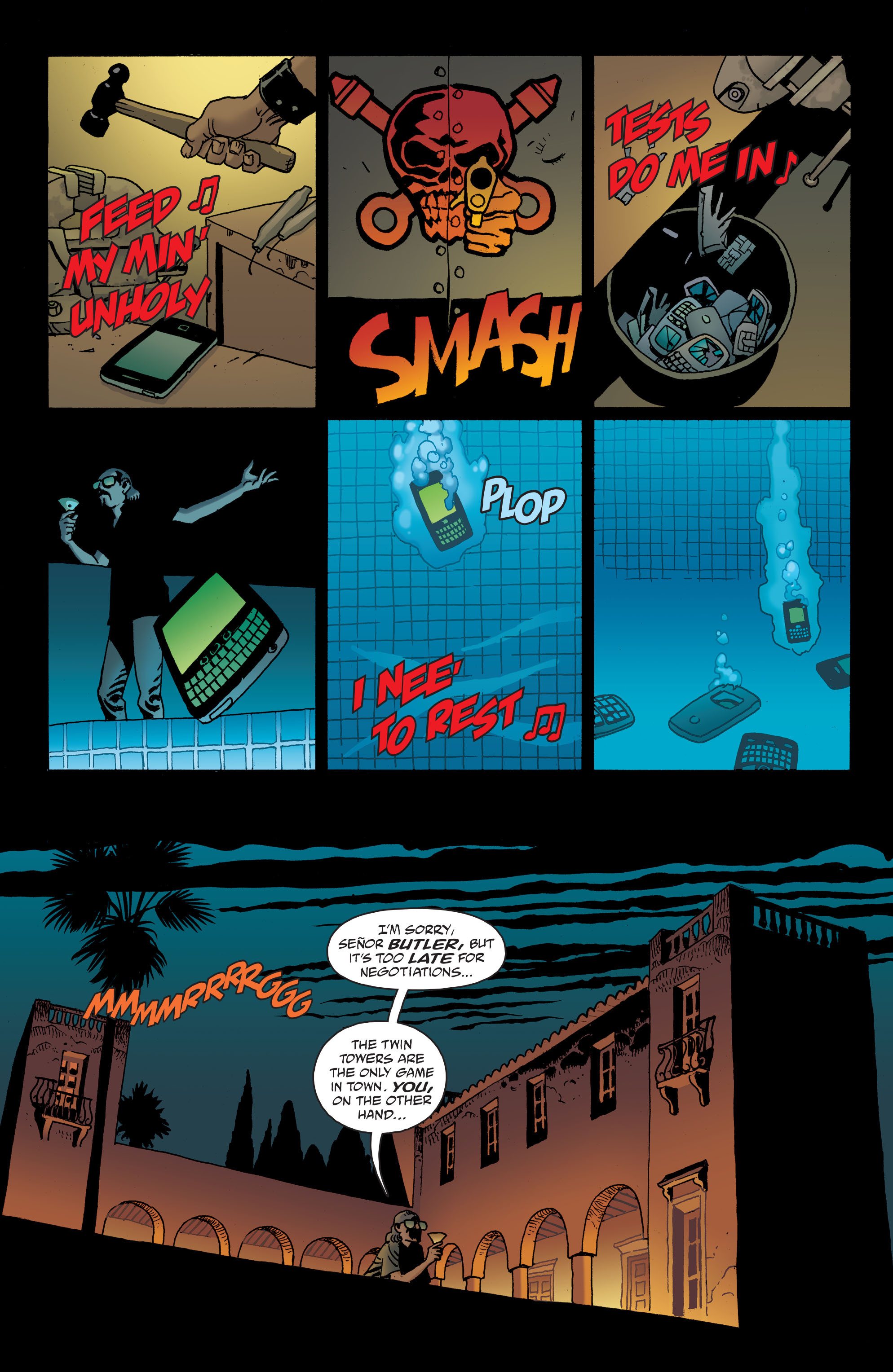 100 Bullets: Brother Lono Full Page 54