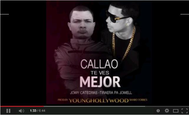 Jowy Catedras Callao te ves mejor, musica y video