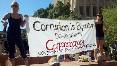Occupy Phoenix Protests Corporatocracy