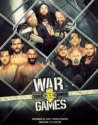 Ver NXT TakeOver: WarGames En Vivo HD