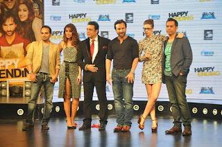 Saif ali khan, Kalki, Ileana and Govinda launch the music of Happy Ending (4).jpg