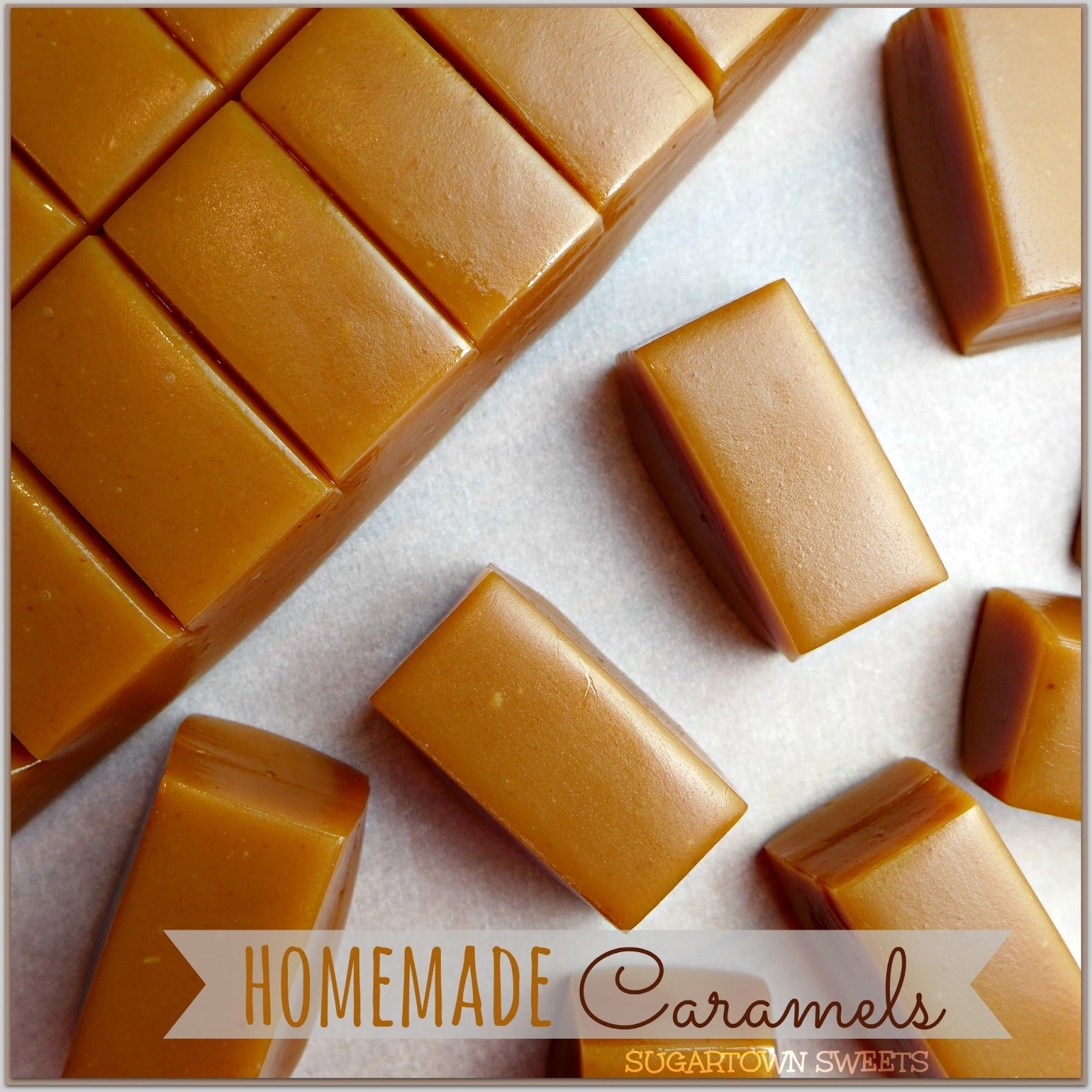 Sugartown Sweets: Homemade Caramels