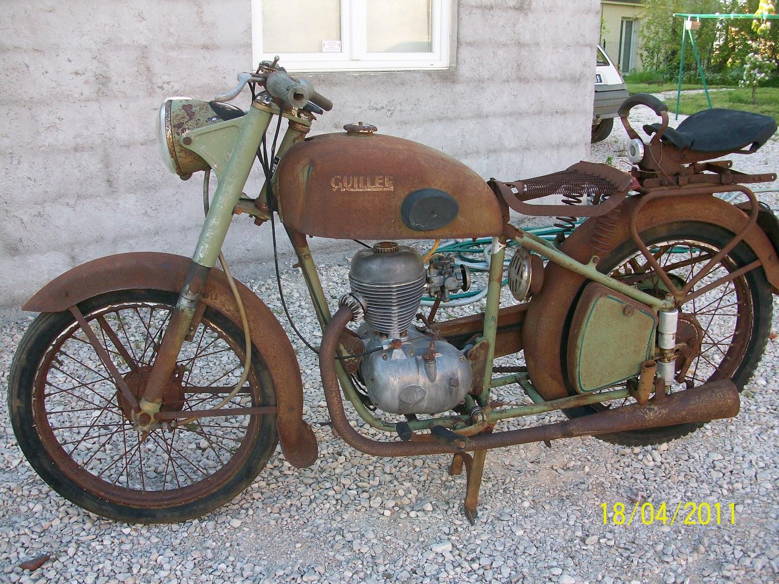 guillier 125 g87 de 1954 mes motos anciennes. Black Bedroom Furniture Sets. Home Design Ideas