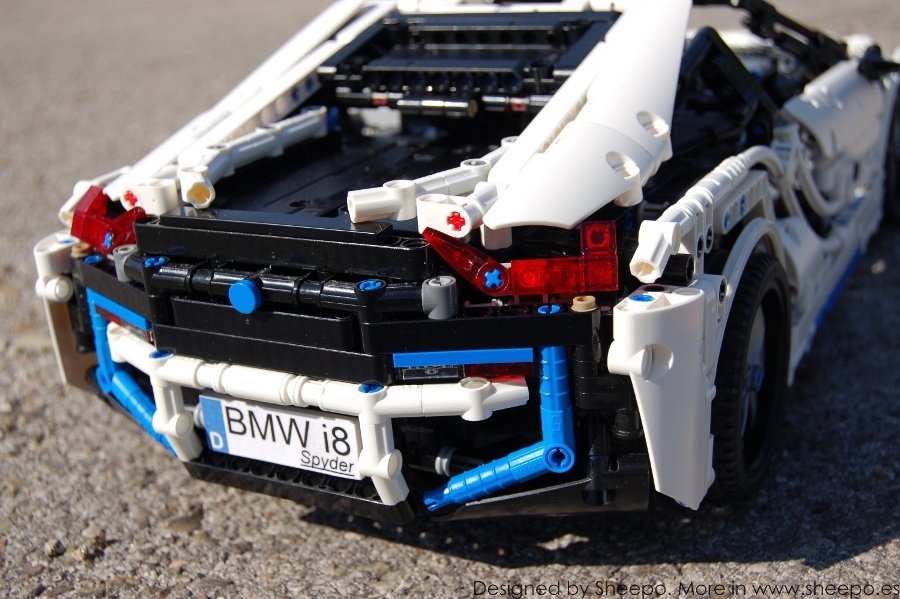 Sheepos Garage BMW I8 Spyder