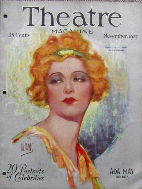 theatre magazine cover hal phyfe