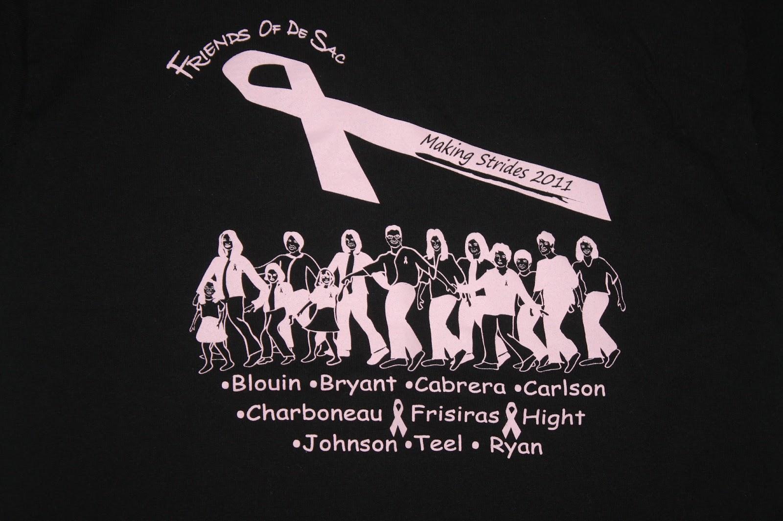 Breast Cancer Tee Shirt Ideas | Lauren Goss