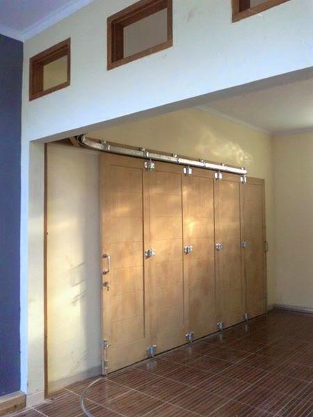 rel pintu garasi