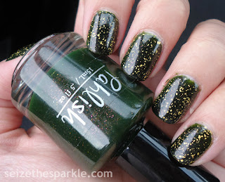 Pahlish Stopped Watch Holiday Manicure