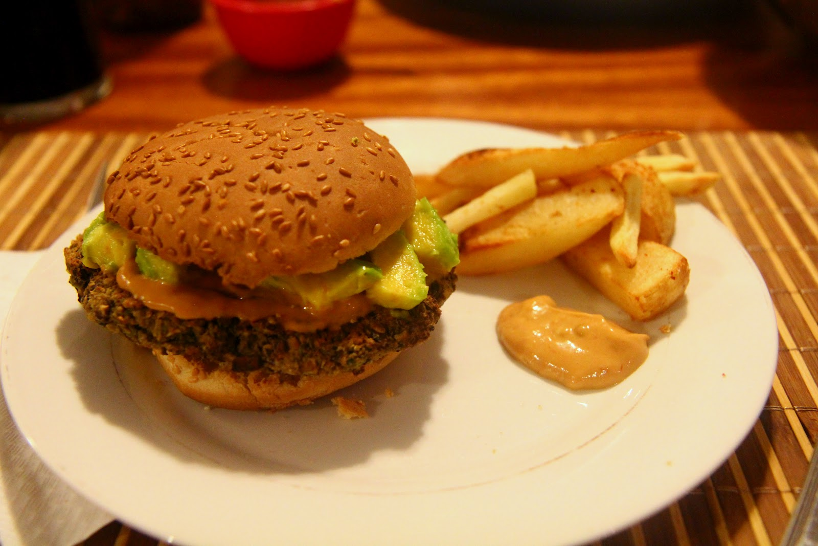 Spicy Black Bean Burgers with Chipotle Mayo | and then I cooked...