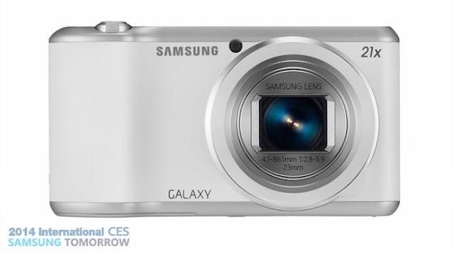 Samsung Galaxy Camera 2 Lens