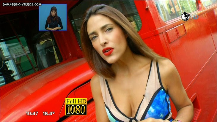 Argentina model Alejandra Martinez hot cleavage full HD damageinc-videos
