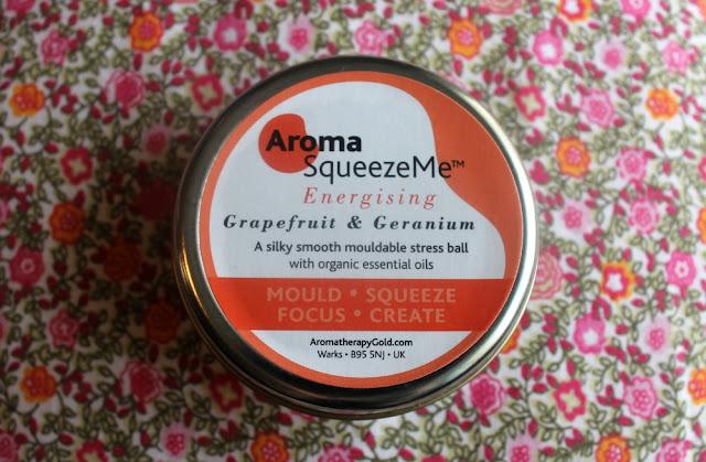 Aroma Squeeze Me Energising Grapefruit and Geranium