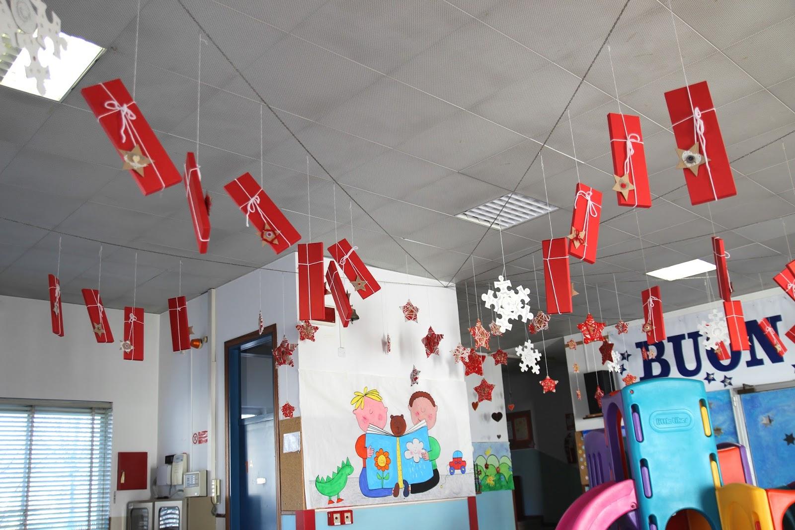 Decorazioni Di Natale Scuola Materna : Natale presepi e addobbi natalizi nella scuola primaria