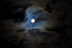 Ein malerischer Mond...