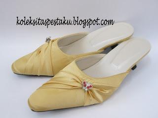 Slop Pesta Gold Model Terbaru Ready Stock