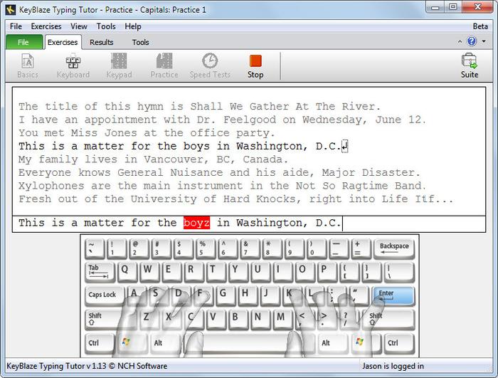 Mengetik tidak jauh berbeda dengan menulis Aplikasi Belajar Mengetik Sepuluh Jari Terbaik di Komputer
