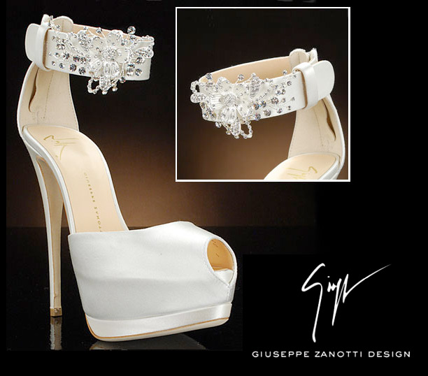 Giuseppe Zanotti Makes The Best Bridal Shoes.. Hands Down!