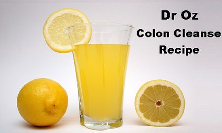 Dr. Oz Colon Cleanse