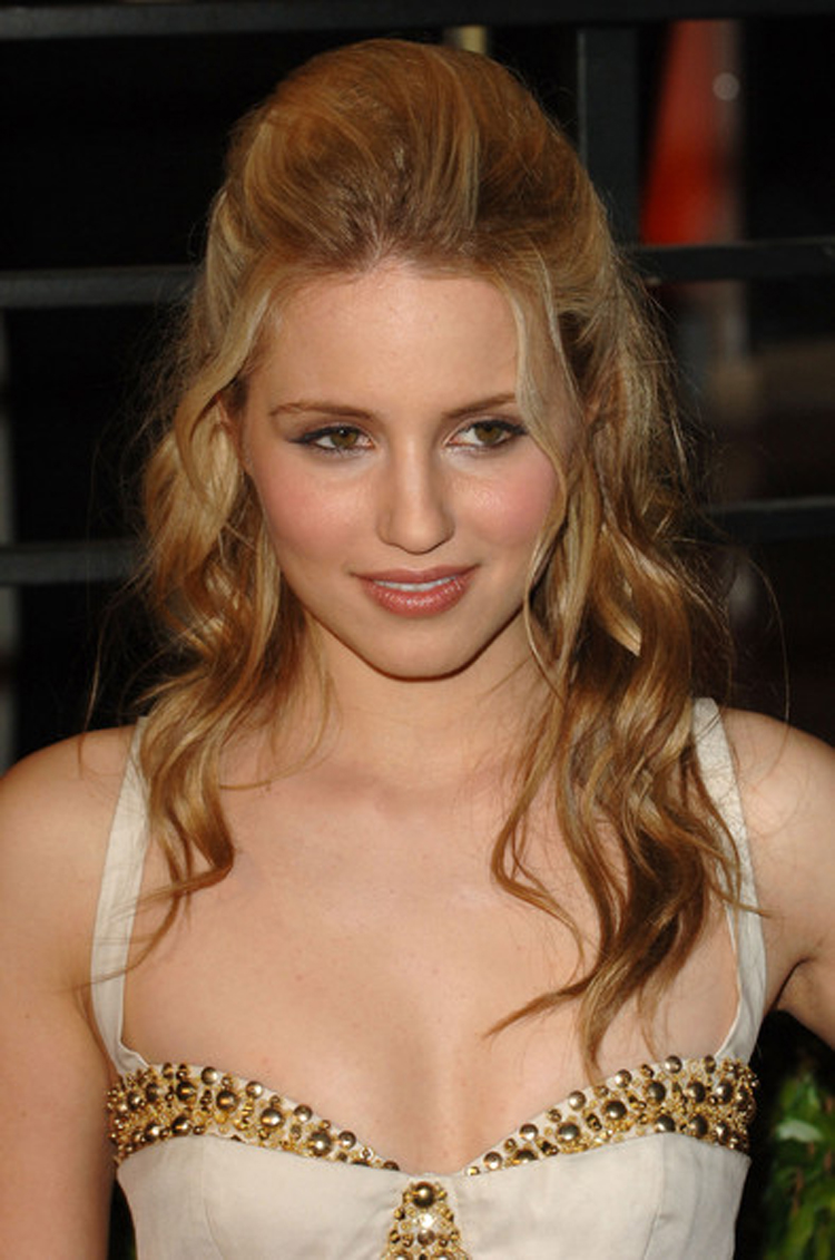 Fresh Look Celebrity Dianna Agron Hairstyles 06