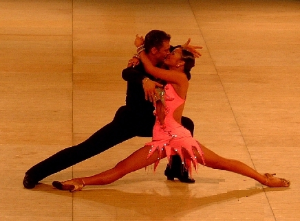 what are the latin ballroom dances