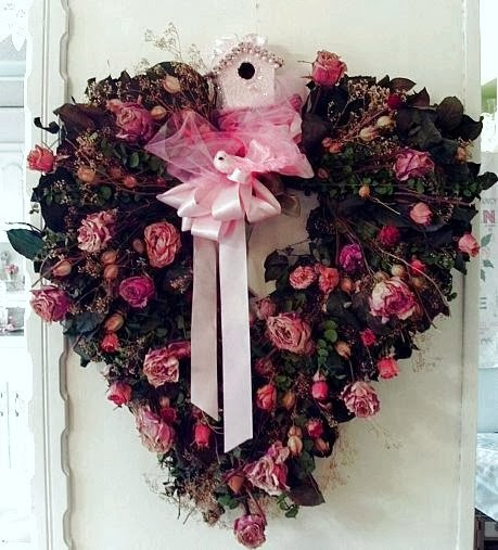 Dishfunctional Designs Valentine 39 S Day Wreaths Ideas