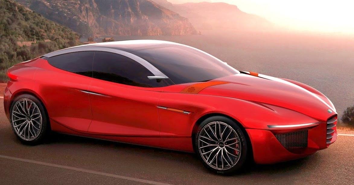Concept Sport Car Design New Alfa Romeo 4C
